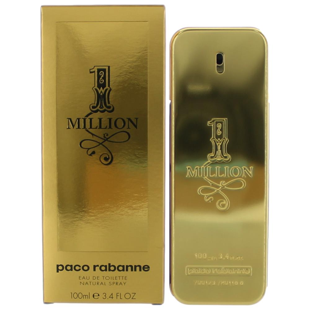 1 million cologne by paco rabanne 3 4 oz edt spray for. Black Bedroom Furniture Sets. Home Design Ideas