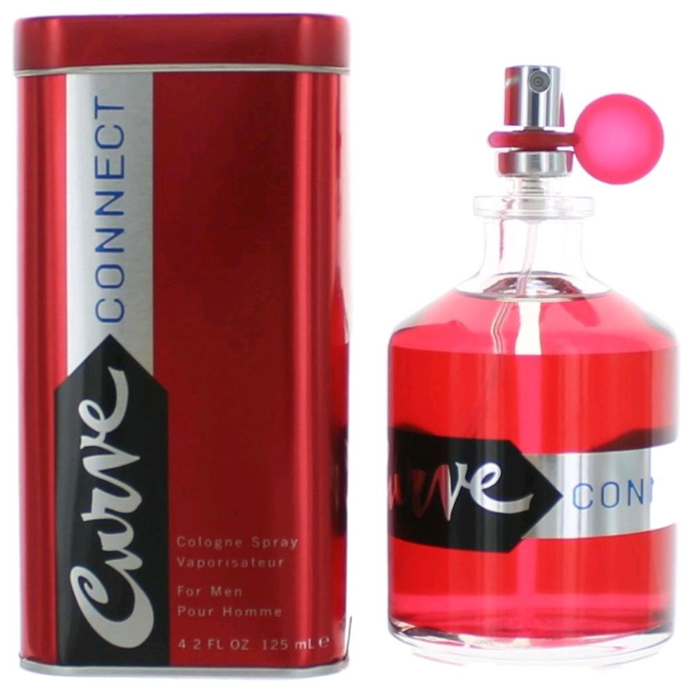 Curve Connect by Liz Claiborne, 4.2 oz Cologne Spray for men
