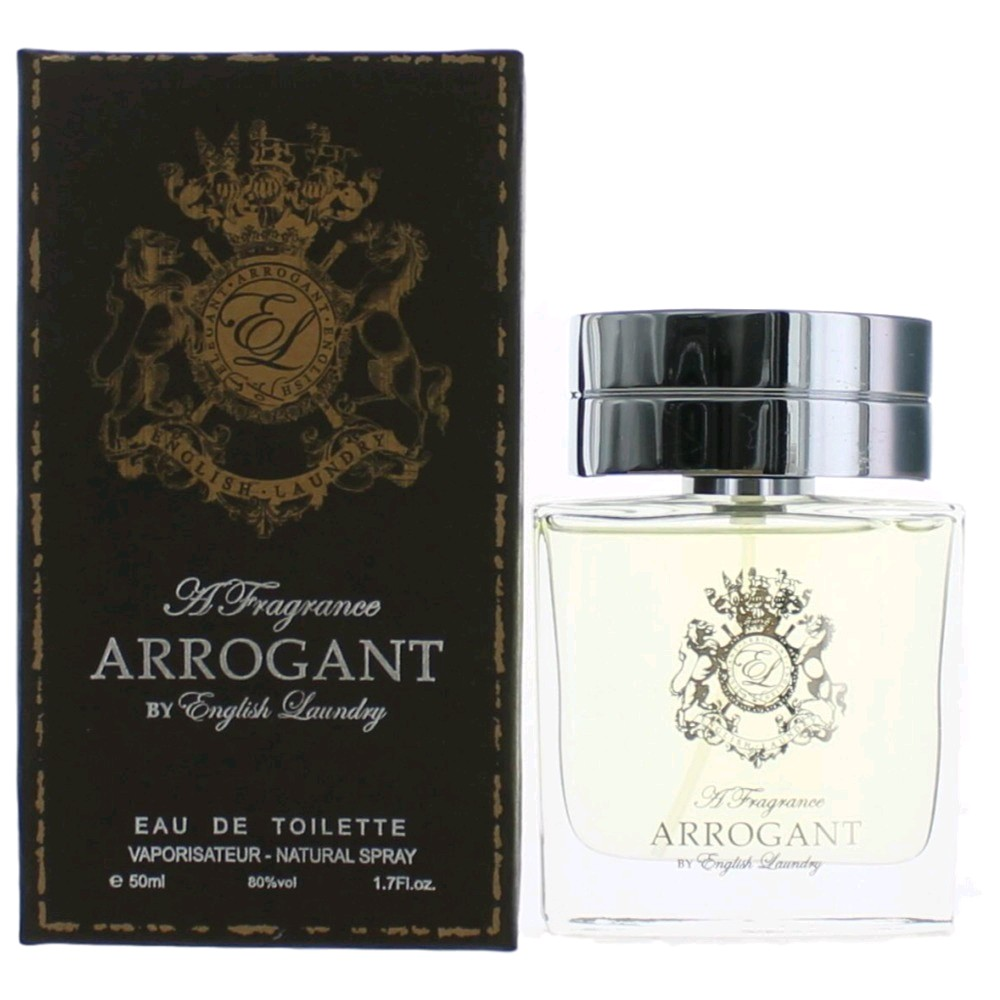 Arrogant Cologne By English Laundry 1 7 Oz Edt Spray For