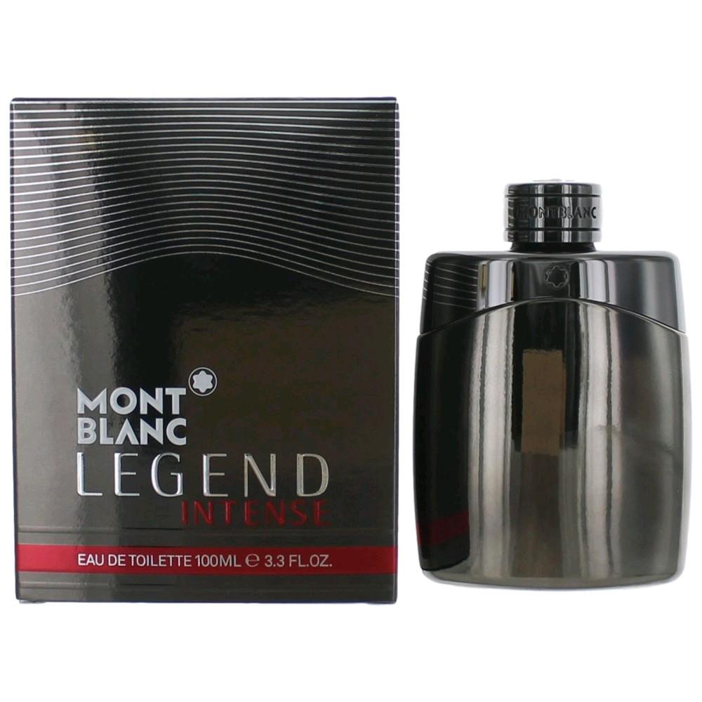 mont blanc legend intense cologne by mont blanc 3 3 oz edt spray men new 3386460055444 ebay. Black Bedroom Furniture Sets. Home Design Ideas