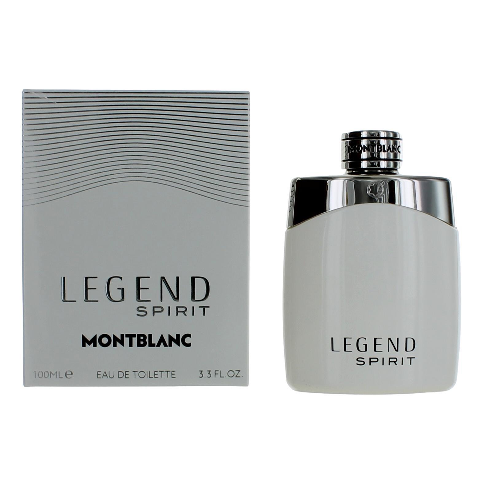 mont blanc legend spirit cologne by mont blanc 3 3 oz edt spray men new ebay. Black Bedroom Furniture Sets. Home Design Ideas