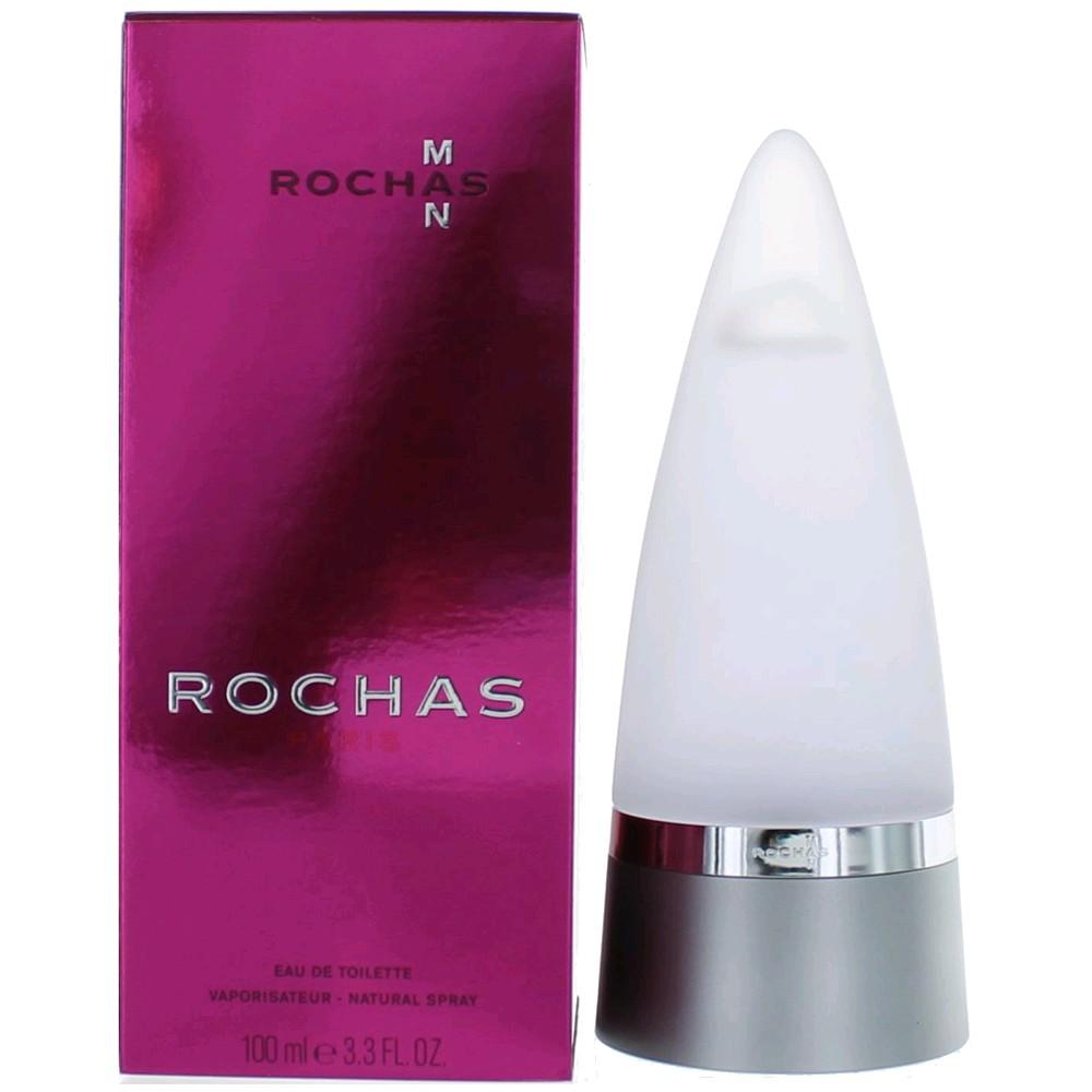 rochas man cologne by rochas 3 3 oz edt spray for men new. Black Bedroom Furniture Sets. Home Design Ideas