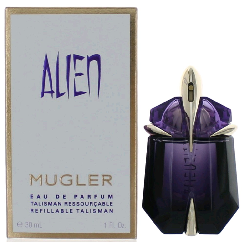 alien perfume by thierry mugler 1 oz edp refillable spray. Black Bedroom Furniture Sets. Home Design Ideas
