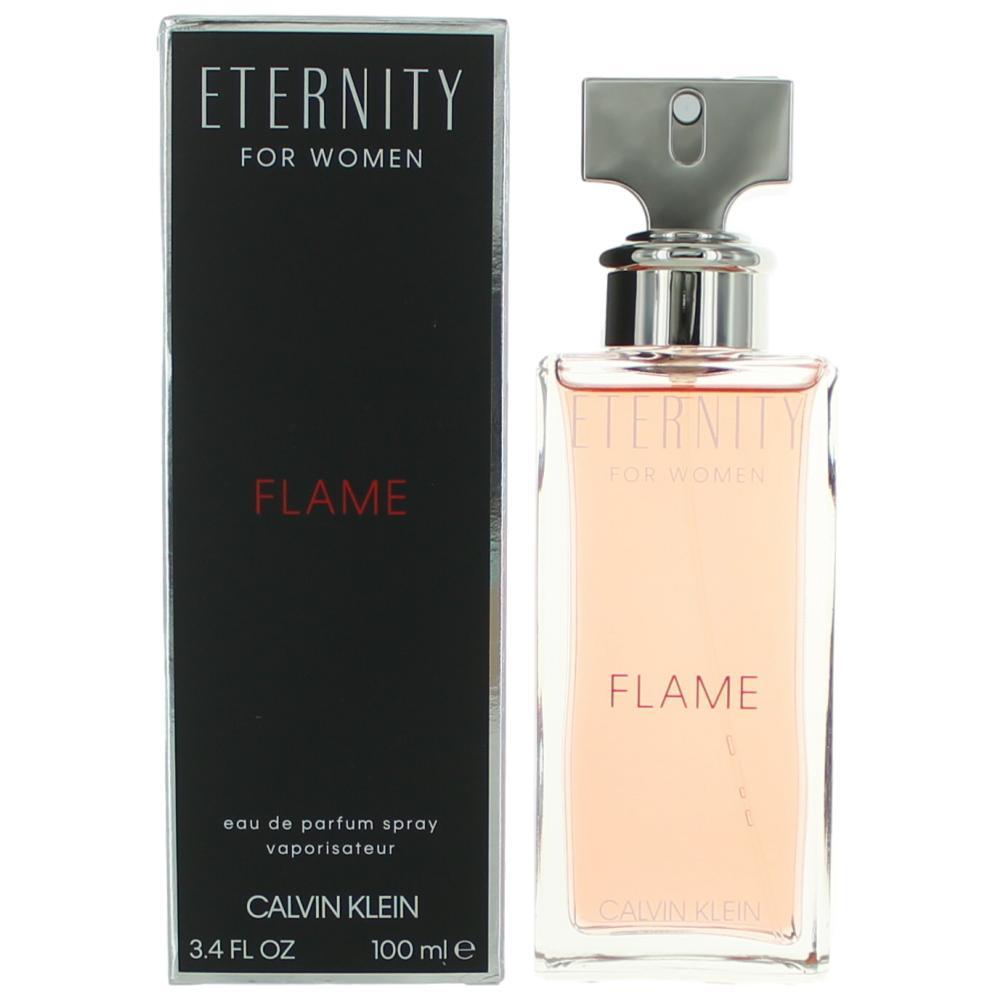 Eternity Flame By Calvin Klein 34 Oz Edp Spray For Women