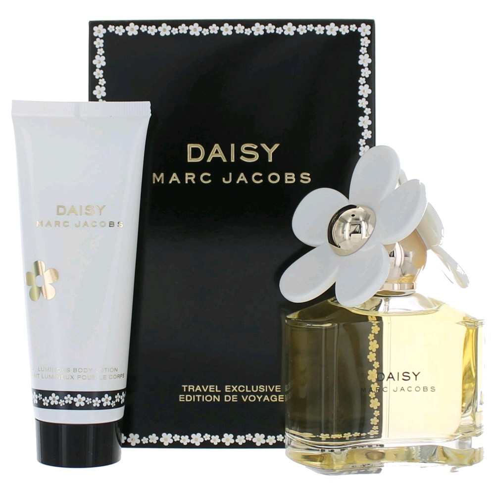 daisy perfume by marc jacobs 2 piece gift set for women new. Black Bedroom Furniture Sets. Home Design Ideas