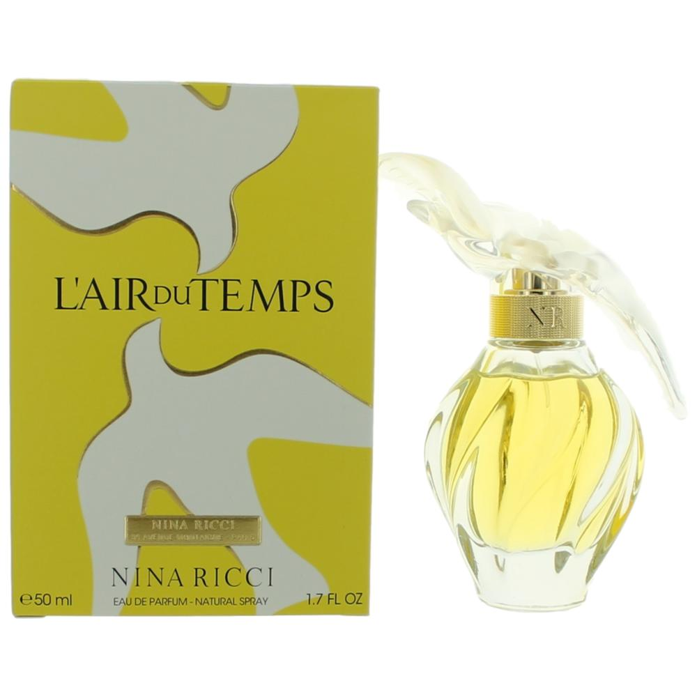 l 39 air du temps perfume by nina ricci 1 7 oz edp spray for women new ebay. Black Bedroom Furniture Sets. Home Design Ideas