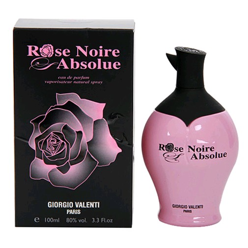 rose noire absolue perfume by giorgio valenti 3 4 oz edp spray women new ebay. Black Bedroom Furniture Sets. Home Design Ideas